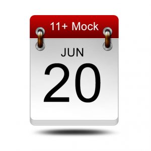 Eleven Plus Mock<br />20 June 2020<br />14:00 – 16:00