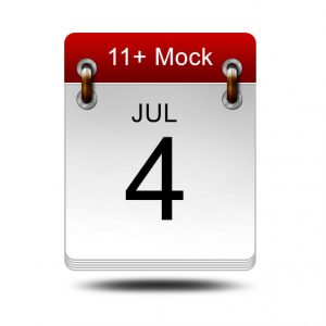 Eleven Plus Mock<br />4 July 2020<br />14:00 – 16:00
