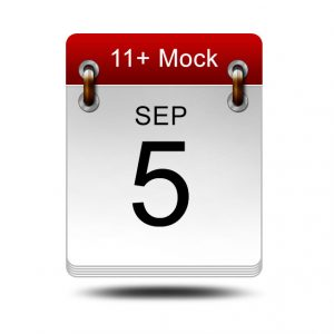 Eleven Plus Mock | 5 September 2020 | 14:00 – 16:00