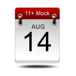 Eleven Plus Mock<br />14 August 2021<br />14:00 – 16:00