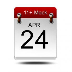 Eleven Plus Mock<br />24 April 2021<br />14:00 – 16:00