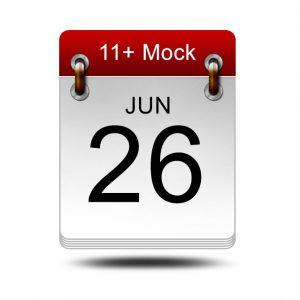 Eleven Plus Mock<br />26 June 2021<br />14:00 – 16:00