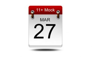 Eleven Plus Mock<br />27 March 2021<br />14:00 – 16:00