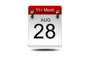 Eleven Plus Mock<br />28 August 2021<br />14:00 – 16:00<br/ >LIVE EXAM