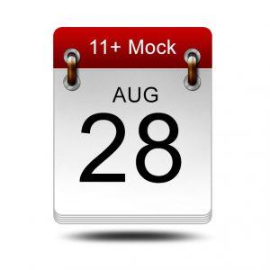Eleven Plus Mock<br />28 August 2021<br />14:00 – 16:00