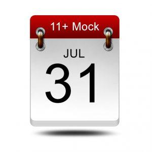 Eleven Plus Mock<br />31 July 2021<br />14:00 – 16:00