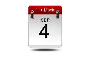 Eleven Plus Mock<br />4 September 2021<br />14:00 – 16:00<br />LIVE EXAM
